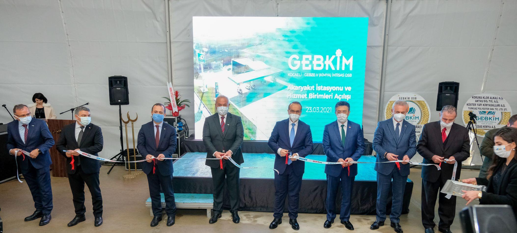 GEBKİM Opet Akaryakıt İstasyonu Hizmete Açıldı