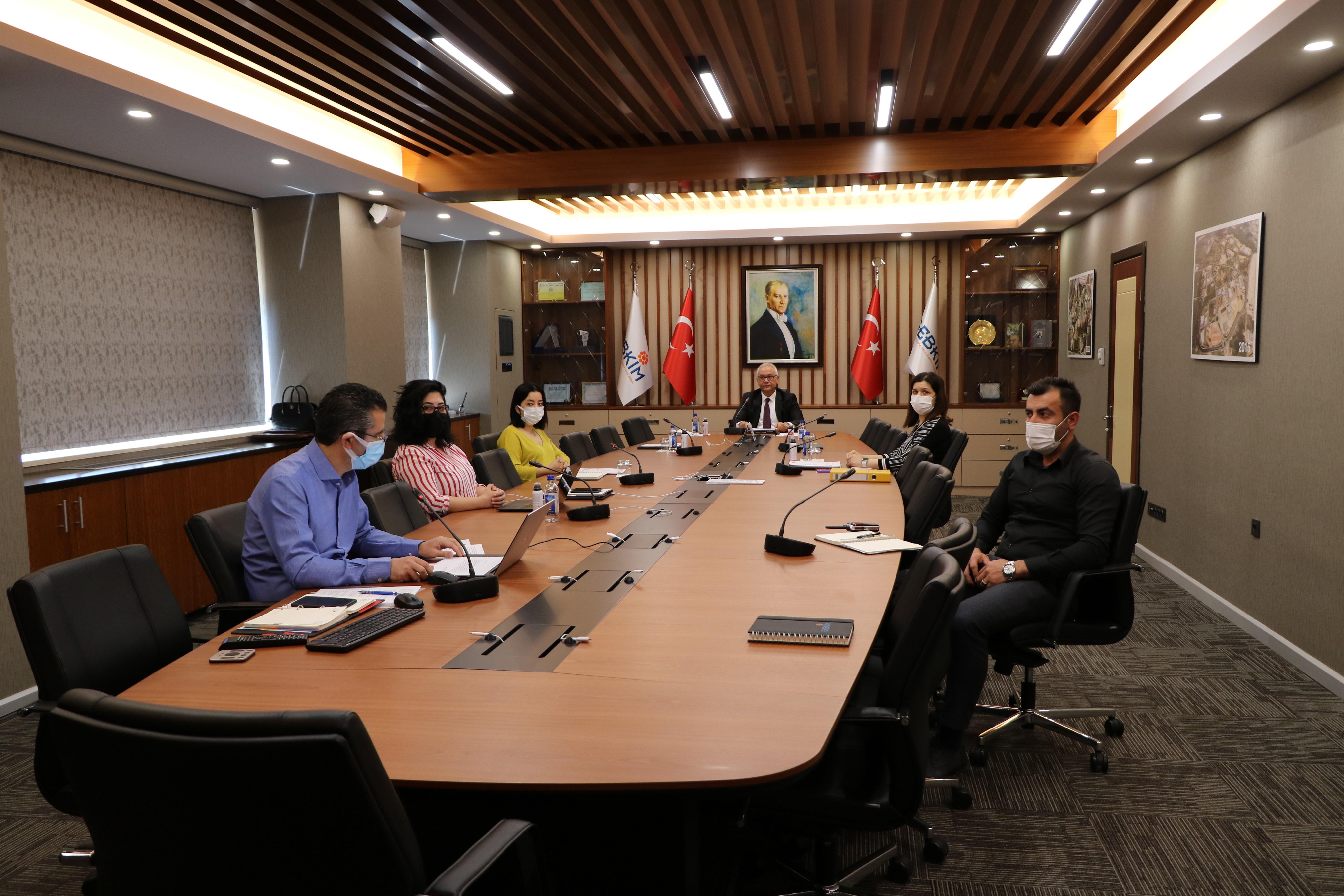 GEBKİM OSB AB Projesinin Açılış Toplantısı Yapıldı