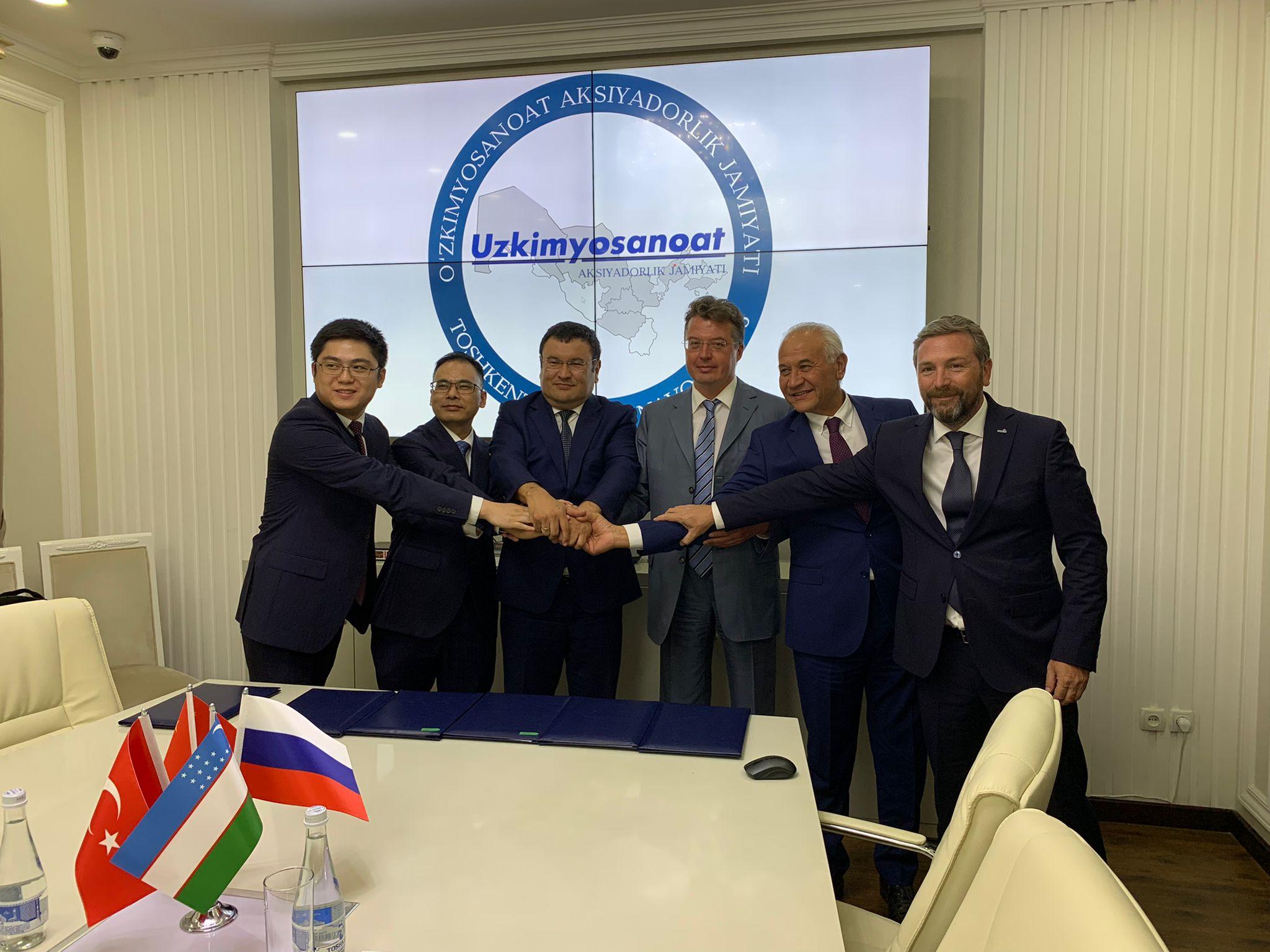 Gebkim, Uzkimyosanoat ve Tataristan Ticaret Ofisi Arasında İşbirliği Anlaşması