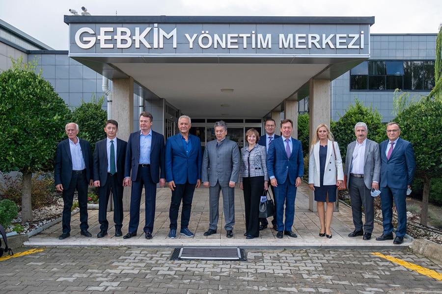 Petro-Kimya Devi Tatneft'den GEBKİM'e Yatırım Ziyareti